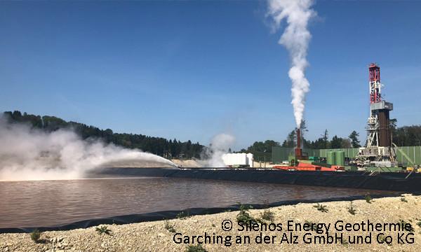 © Silenos Energy Geothermie Garching an der Alz GmbH und Co KG
