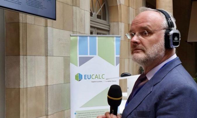EUCalc auf der EUSEW © EUCalc