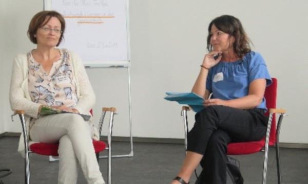 Roswitha Reisinger und Beatrix Hausner